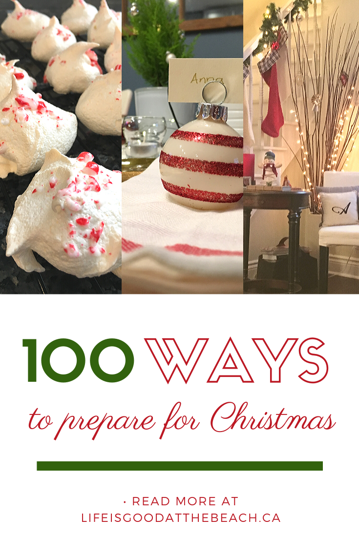 Our list of 100 things to be prepared for the holidays